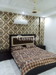 1 Bed Fully Furnished Flat For Rent In Jasmine Block Sector C Bahria Town Lahore