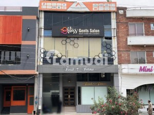 4 Marla Commercial Building With Handsome Monthly Rental Income