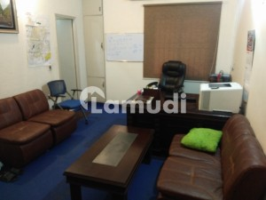 Office Space With 15 Workstations In Barkat Market Facing Main Road