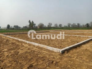 Ideally Located Residential Plot Of 4 Marla Is Available For Sale In Gujrat