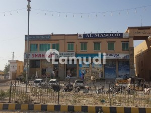 4 Shops With 800 Sq Yard For Rent