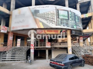 Good Location Flat For Sale  In Main P.R.C Chowk Shaheen Shopping Mall