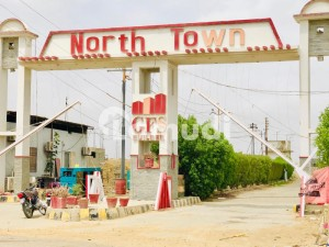 120 Sq Yd Plot Available In North Town Residency Phase 1