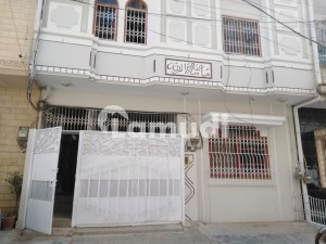 In Gulshan-e-Iqbal Town Of Karachi, A 120 Square Yards House Is Available
