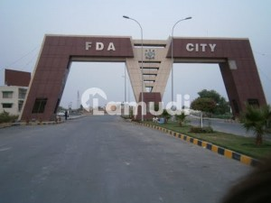 10 Marla Residential Plot For Sale In FDA City Faisalabad In Only Rs 3,700,000