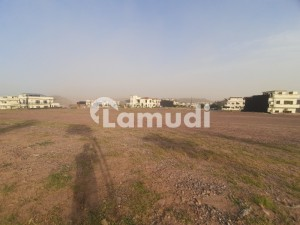 Sector C Hill Top Road 2 Kanal Plot Peaceful Location Bahria Enclave Islamabad