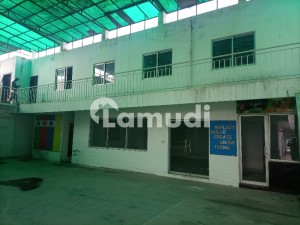 4.5 Kanal Almost New Condition Building 27 Big Halls Marble Flooring