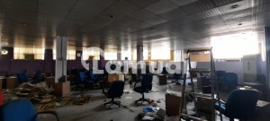 I-10  28000 Sqft Plot Compounded Building 14000 Sqft Covered Halls Rooms Available For Rent