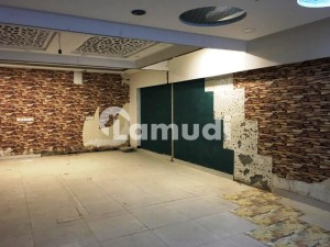 F-7 Markaz 1100 Sq Ft Lower Ground Space Shop Available For Rent