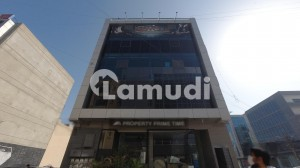 First Floor Double Entrance Office For Rent In Bukhari Commercial