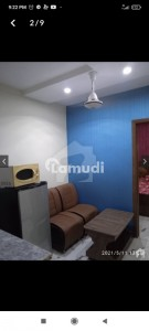 350 Square Feet Furnished Flat Available For Rent In Johar Near To Emporium Mall