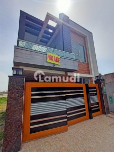 Brand New Solid Constructed 5 Marla House is available for Sale in Jinnah Block - Sector E