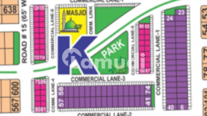 4 Marla Prime Located Commercial Plot In K Sector