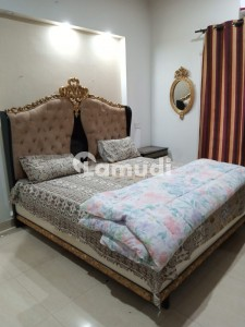 ONE BED FAMILY FULLY FURNISHED APARTMENT AVAILABLE FOR RENT INN BAHRIA TOWN LAHORE,