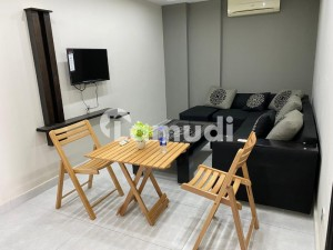 ONE BED FULLY FURNISHED FAMILY APARTMENT AVAILABLE FOR RENT INN BAHRIA TOWN LAHORE,