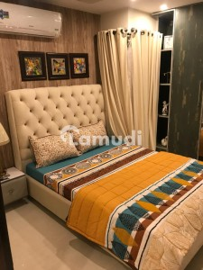 TWO BED ROOM FULLY FURNISHED FAMILY APARTMENT AVAILABLE FOR RENT INN BAHRIA TOWN LAHORE,