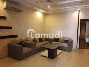 Fully Furnished 10 Marla First Floor Apartment Available For Rent