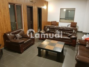 Facing Park Fully Furnished Apartment For Sale At Prime Location