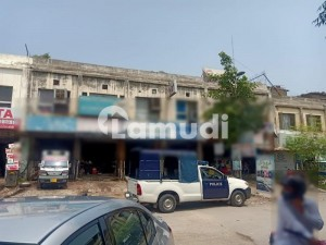 Commercial Plaza 60x80 Old Construction Ground One Double Storey Available For Sale In G-10