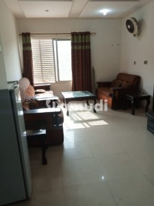 Bahria Town Phase 7 Square Commercial First Floor 2 Bedroom Flat Full Furnished For Sale
