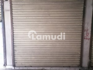 Muneer Chowk Shop Sized 202  Square Feet For Sale