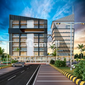 Luxury Office For Sale At 3 Year Instalments Plan Project Burj Ul District  Business District Bahria Town Phase 8 Rwp