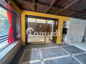 Shop Available For Rent In On Ground Floor In Gulberg Mm Alam