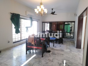 E-7 Semi Furnished Marble Flooring 04 Bedroom Compact House With Beautiful Lawn