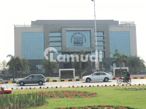 DHA Phase 6 A Block 4 Marla Commercial Corner Plot With Huge Parking Reasonable Price