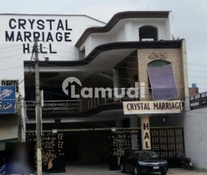 Crystal Marriage Hall Is Available For Sale - M.A. Jinnah Road
