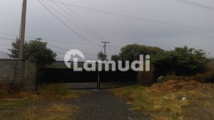 4 Kanal Covered Factory For Sale On Main Hattar Road