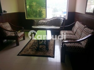 2 Bed Rooms Fully Furnished Apartment With Living Room Kitchen Covered Car Parking Security Surveillance Attendant At Call And View Of Kashmir Hills