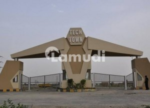 1 Kanal Plot For Sale In Tech Town Canal Road Faisalabad