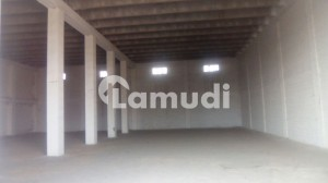 20000 Sq Ft Covered Warehouse Available For Storage At Sargodha Road