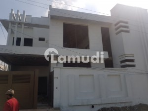 7 Marla Double Storey Grey Structure House At Corner