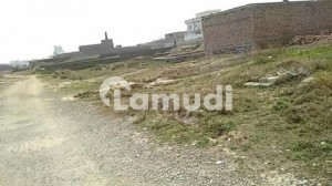 Plot For Sale In Wah Cantt Bahtar Mor Garden Town Near Motorway In Good Location.