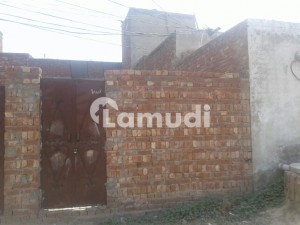 2.5 Marla Plot 12.5x45 With Boundary Walls And Gate Near Shops Next To Corner Plot
