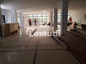 Property Connect Offers 1500 Square Feet Hall Space Available For Rent In G6 Islamabad Suitable For IT Telecom Software House Corporate Office And Any Type Of Offices