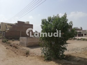 3 Side Corner Plot Is Available For Sale  At Khayaban E Yousuf Phase 2 Ring Road Mirpurkhas