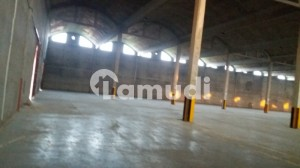 Warehouse Storage Space 115000 Sq Ft Covered Area With 50 Kva Electricity Connection Vacant For Rent At Main Raiwind Road