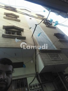 A Four Storey Building Consist On Seven Flats Is For Sale In Baldia Town Swat Colony Karachi