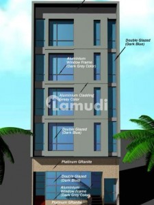 100 Yards Complete Building Is Available For Sale