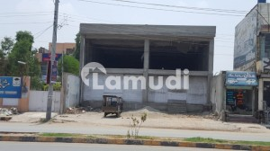 1 Kanal Double Storey Commercial Building Available On University Road Sargodha