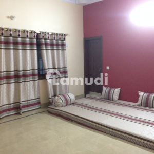 Ground Portion Fully Renovated 500 Sq Yd Available In Darussalam Society