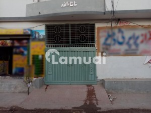 Double Storey Beautiful Corner Commercial Building Flat Available For Rent At Ayub Park Okara