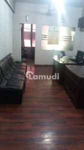 Blue Area Office 400 Square Feet Sale Prime Location Neat And Clean