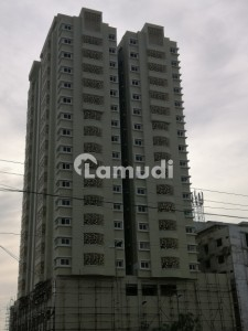 AA Tower 3 Bed Flat For Sale With DD Main Shaheed-e-millat Road