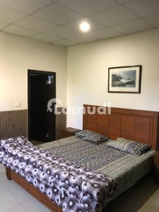 Furnished One Bed Room For Rent   At Safari Villas Bahria Town Family Only All Utilities Included