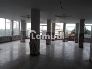 A Big Commercial Office Hall Available For Rent In Bani Gala