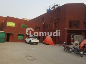 32000 Sq.ft 6 Kanal Factory Is Available For Sale In Gulberg